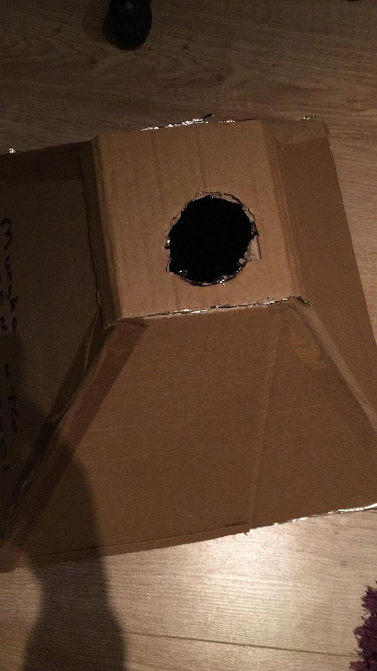 jak zrobic tanio softbox 13