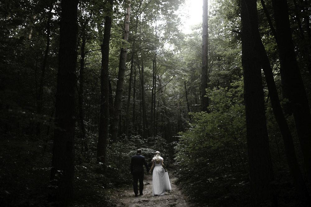 Boho outdoor wedding in Tokarnia