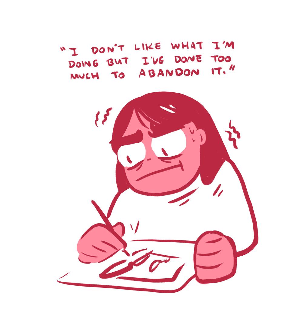I Don't Like What I'm Doing
