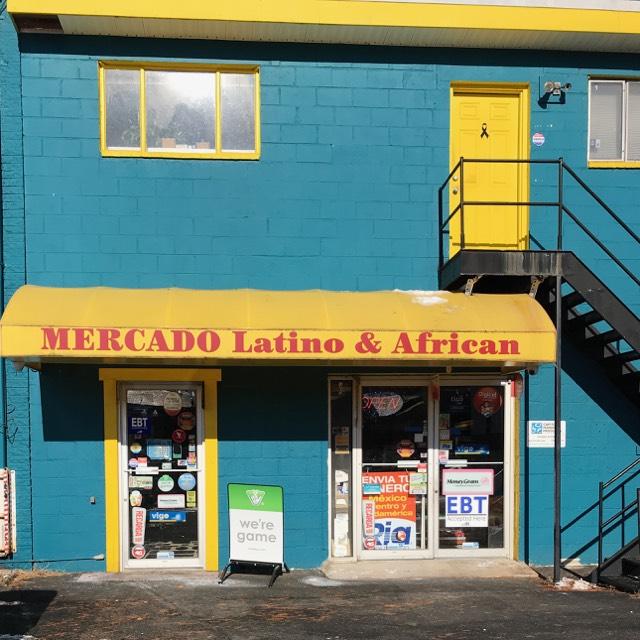 Mercado Latino and African on Columbia Pike in Arlington.