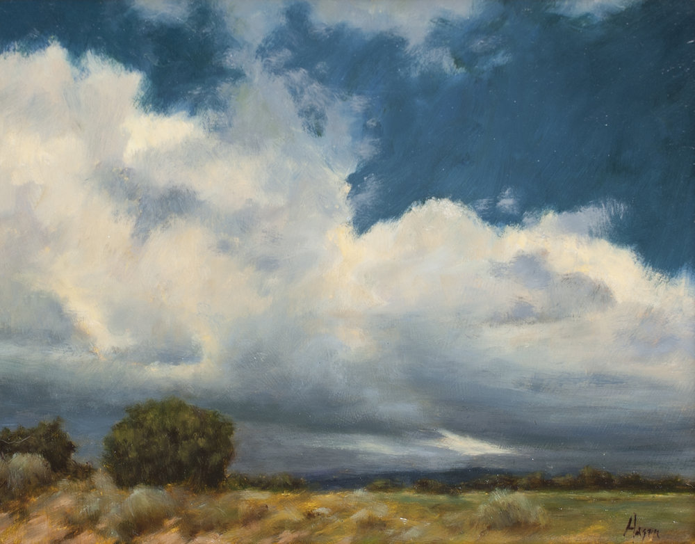 """Storms • 11"""" x 14"""" • Oil"""