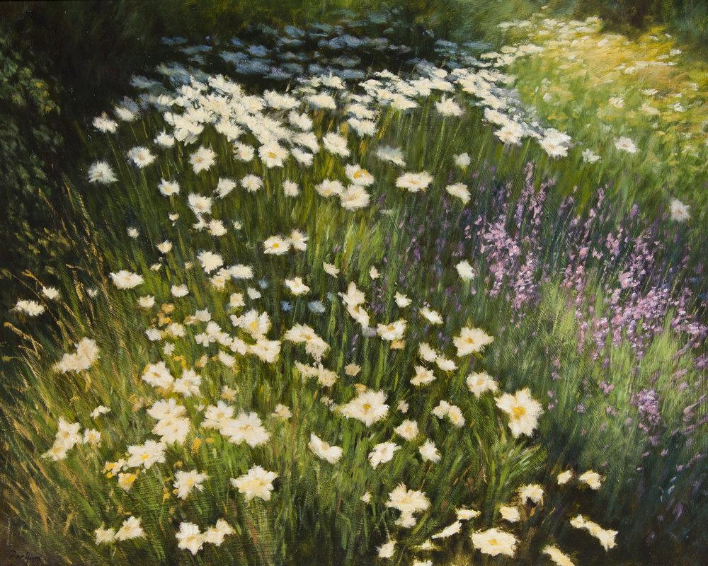 "My Garden • 24"" x 30"" • Oil"