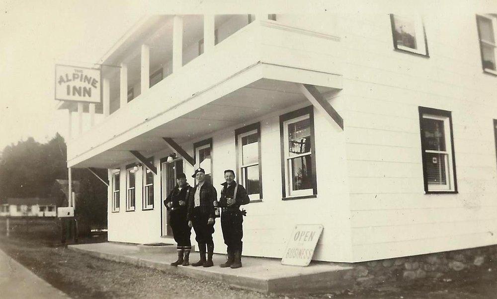 The Alpine Inn, 1941