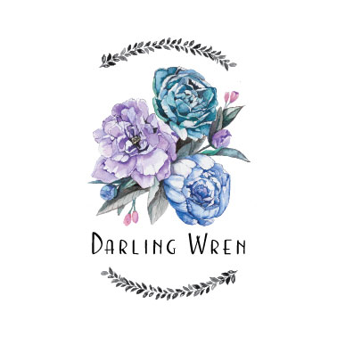 DARLING WREN - Darling Wren was started in 2017 with a passion to offer illustration and design services for events, branding, and homes. We love creating for bad ass babes and little darlings!Custom wedding invitation suites are our main focus, but the same goal always applies; leave our clients bursting with excitement on the final result! We are available for custom and semi-custom invitations, envelope lettering, and day of items. We also have finished pieces in the shop, perfect for brightening up your home or nursery. If you are interested in tips and tricks of watercolor painting and calligraphy, look out for #WrenWorkshops online and on the road.