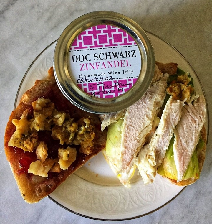 DOC SCHWARZ WINE JELLY - Two Gardiner Gals. Made in the Hudson Valley.We make the Wine and then make it into jelly.DOC SCHWARZ Wine Jelly has won first, second and Best of Show at Ulster County Fair.