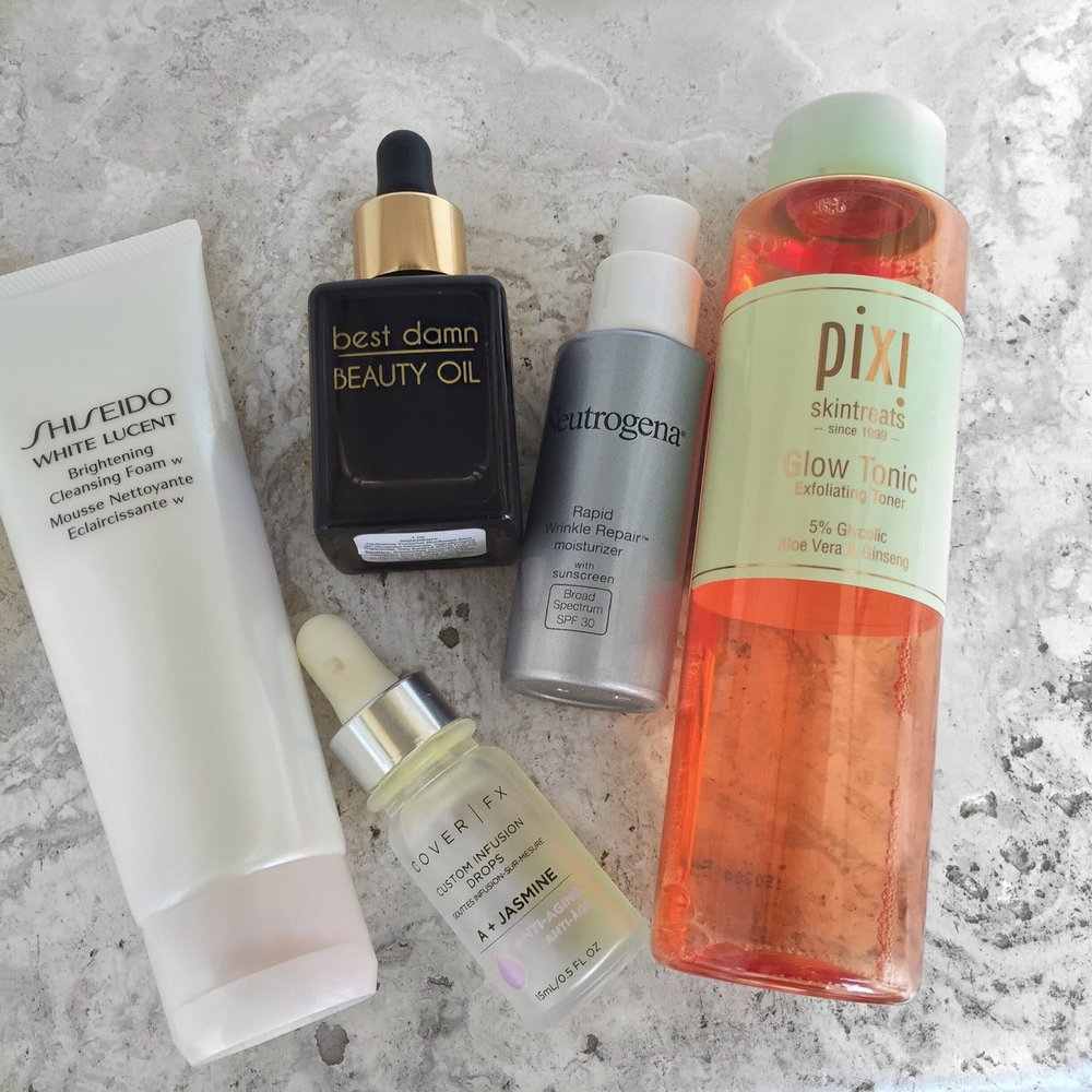 Skincare Routine For A Clear Glowing Face Cori Scherer