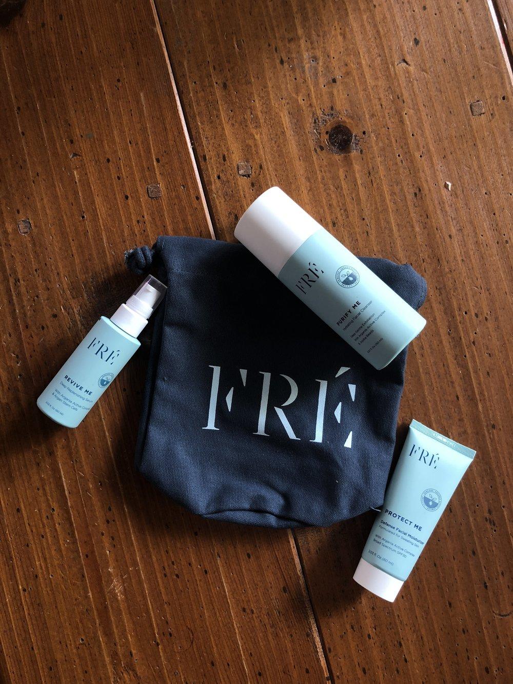 Fre Skincare Set.JPG