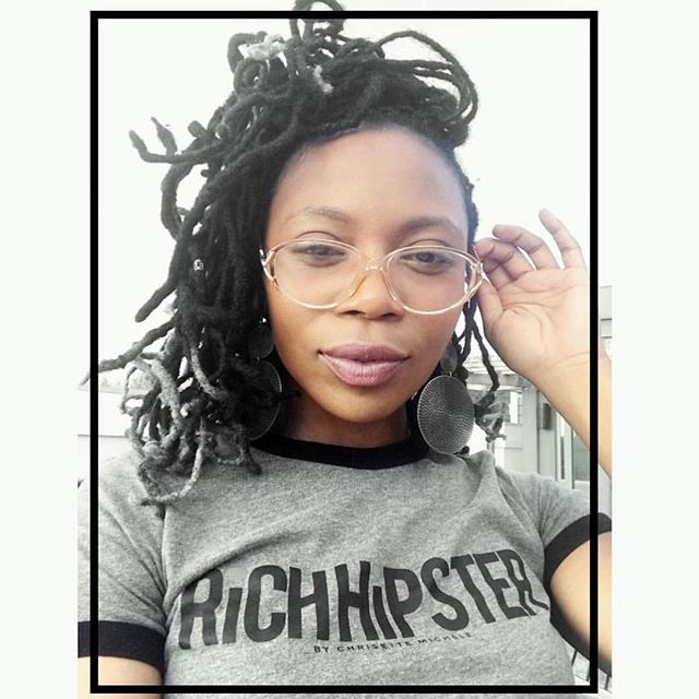 This beautiful queen @lukitscharbear just completed her first two recordings under the Mentorship of @chrisettemichele and RHU! | You won't believe what she has coming up next! | Do you want to be mentored at RHU too? We're gearing up for our 2018 Mentorship season. Send an email to Info@RichHipsterUniversity.com today!