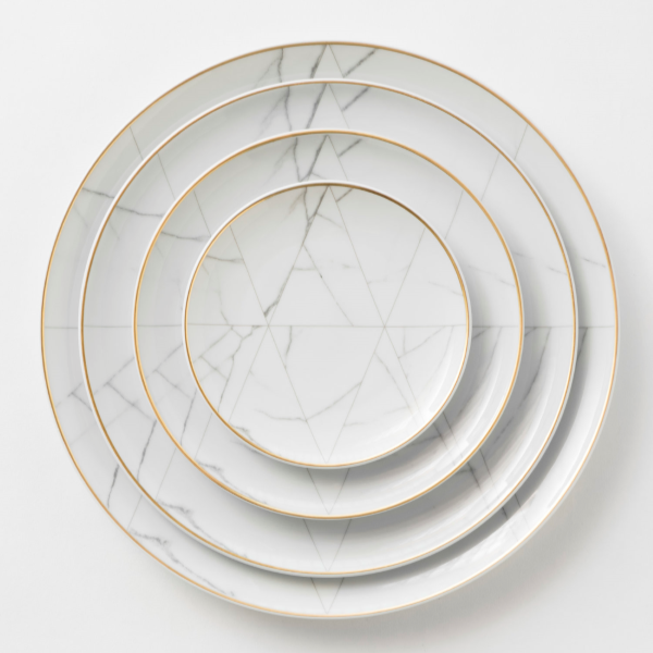 dc+geometric+dinnerware+rental+COVETED+miami