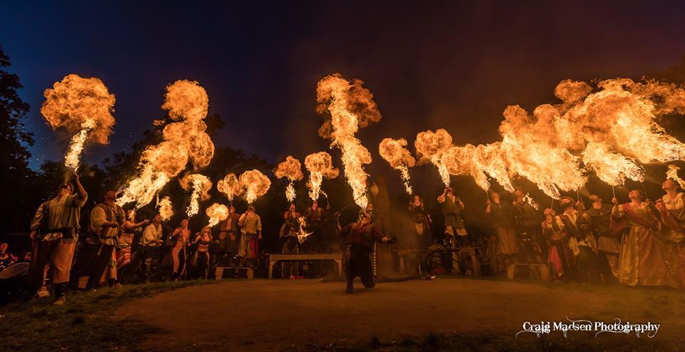 Minnesota Renaissance Festival Final Fire, 2016
