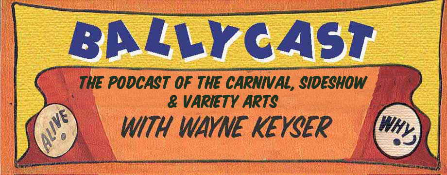 - Interview on Ballycast: The Podcast of the Carnival, Sideshow, & Variety Arts(Interview begins at 29:25 into the show)