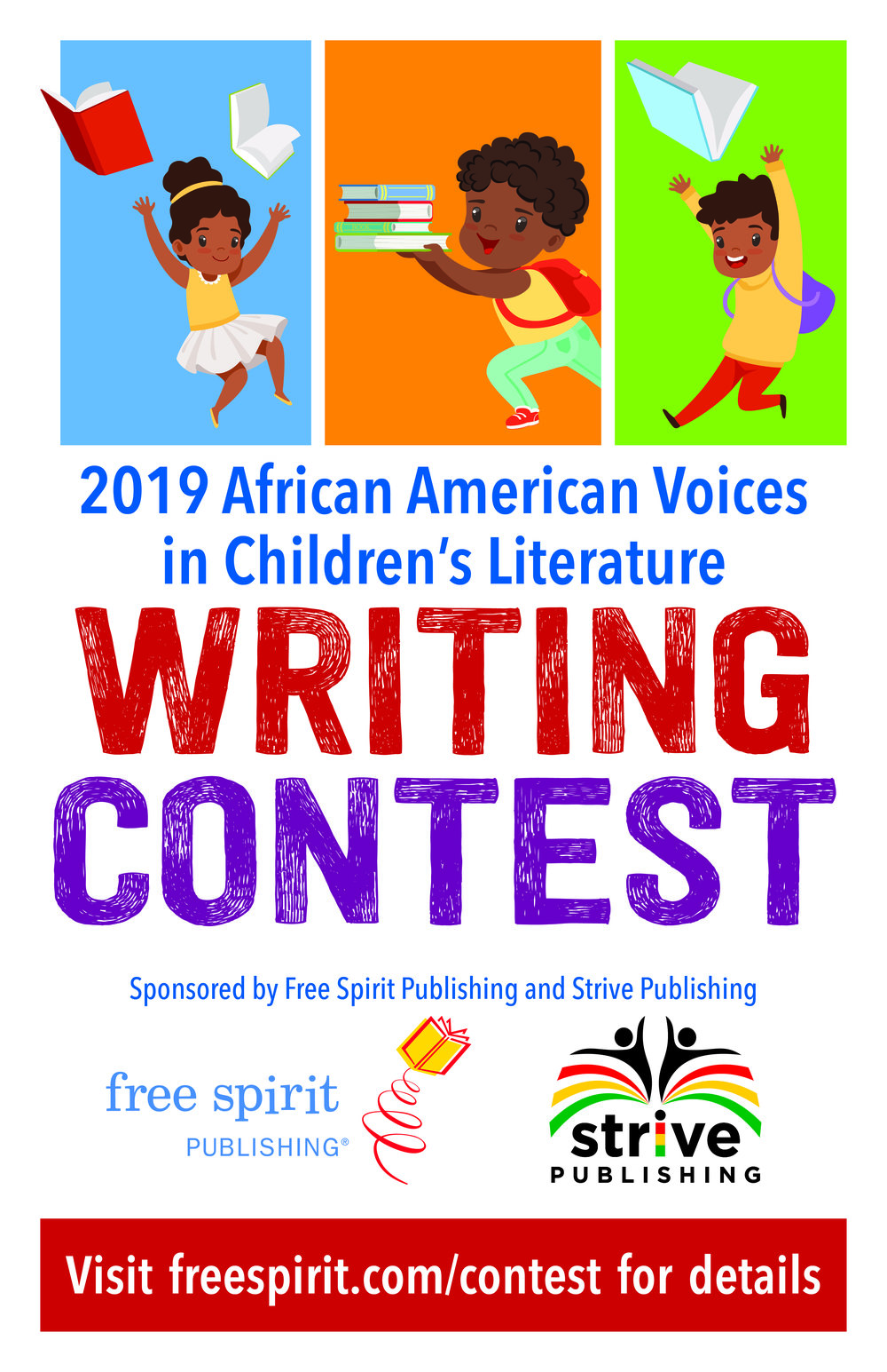 WritingContest, African American Authors, African American Children's Books, Diverse Books, Own Voices