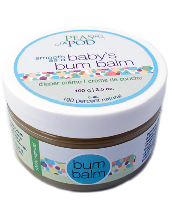 🍁  All Things Jill - Peas in a Pod    From an Alberta company, the Peas in a Pod bum balm is tested and loved by cloth diapering parents. It is also fantastic for cradle cap, and dry skin on mum and dad too!