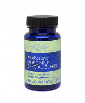 MotherLove   We carry Motherlove More Milk Special Blend in 60 or 120 capsules.
