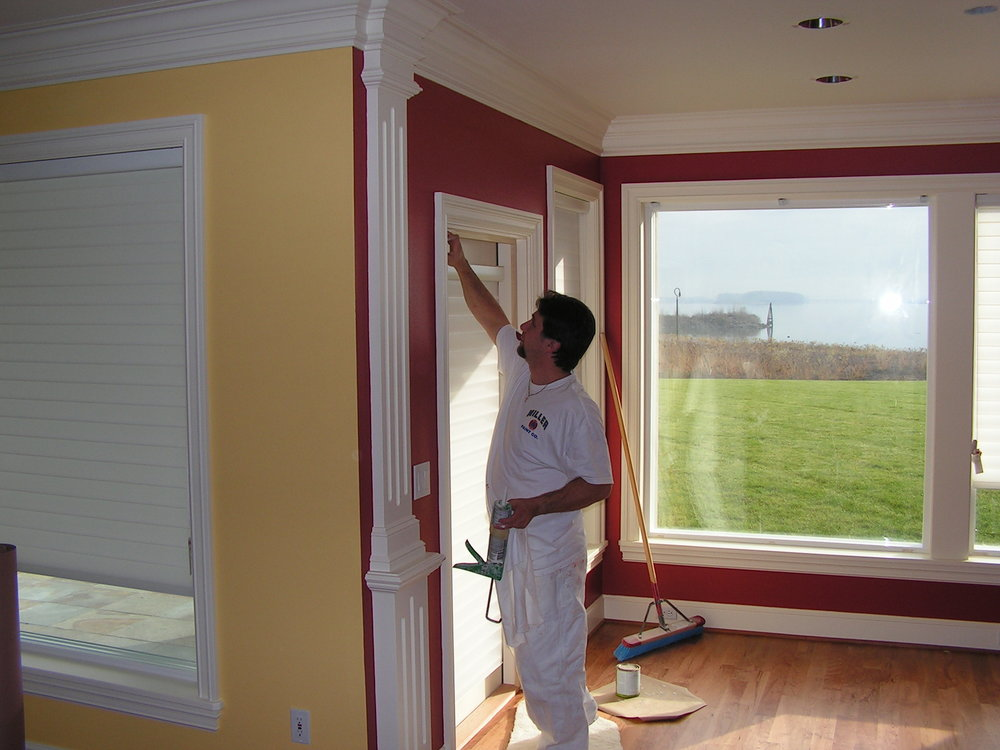 Interior - Since 1952, our interior painters have been performing quality home and business painting services.