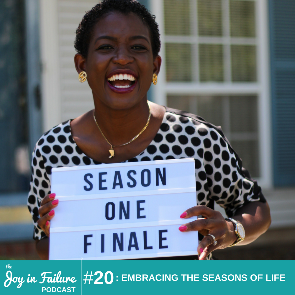 embracing the seasons of life joy Ogunneye
