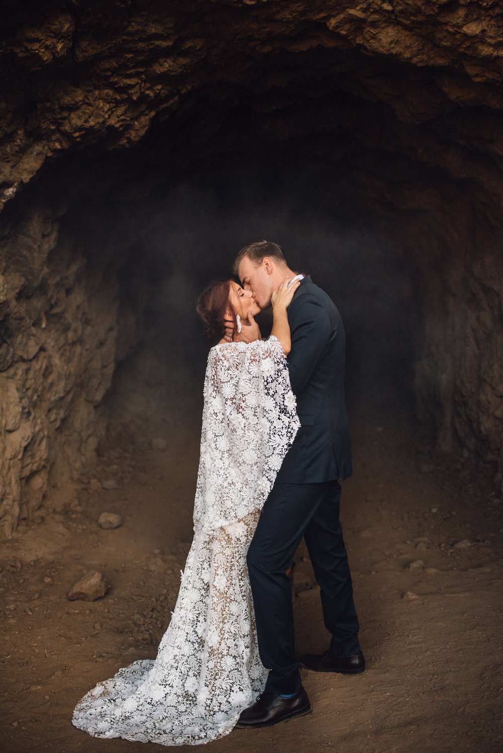 Adam & Toni - bronson canyon caves