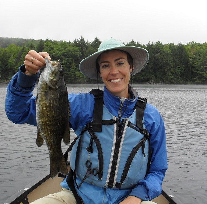 Bass fishing Maine