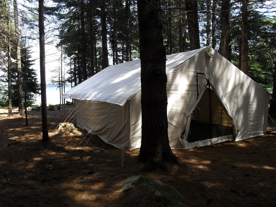 Flagstaff Lake Wall Tent