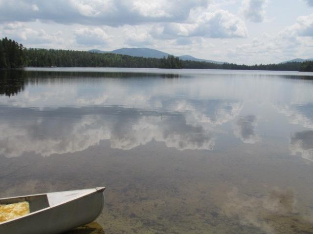 pristine Maine lake