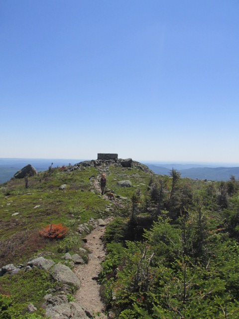 Bigelow range, summer, Maine, backpacking,  hiking