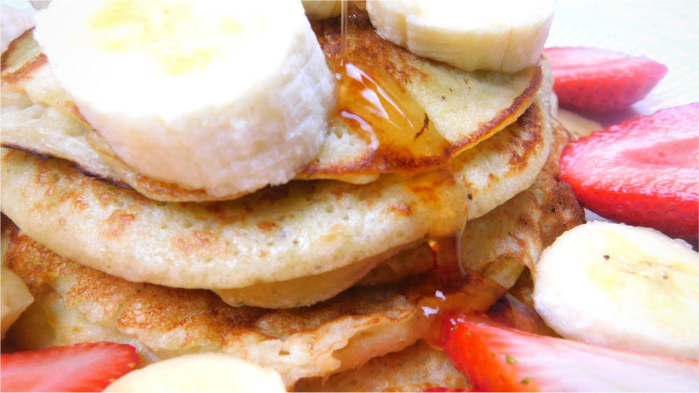 Simple moist banana pancake recipe student recipe winies recipe video below forumfinder Images