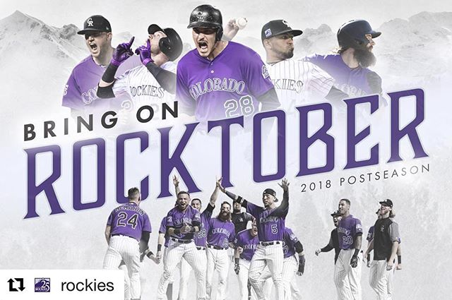 #coloradorockies gutted this #win out! Bring on the Brewers.  #Rocktober 🏔⚾️continues!  We're behind you 💯%. . . . . #storytime #storytimebrewing #storytimebeer #colorado #baseball #playoffs #winning #win #strikeoutforthewin #nowicangotobed
