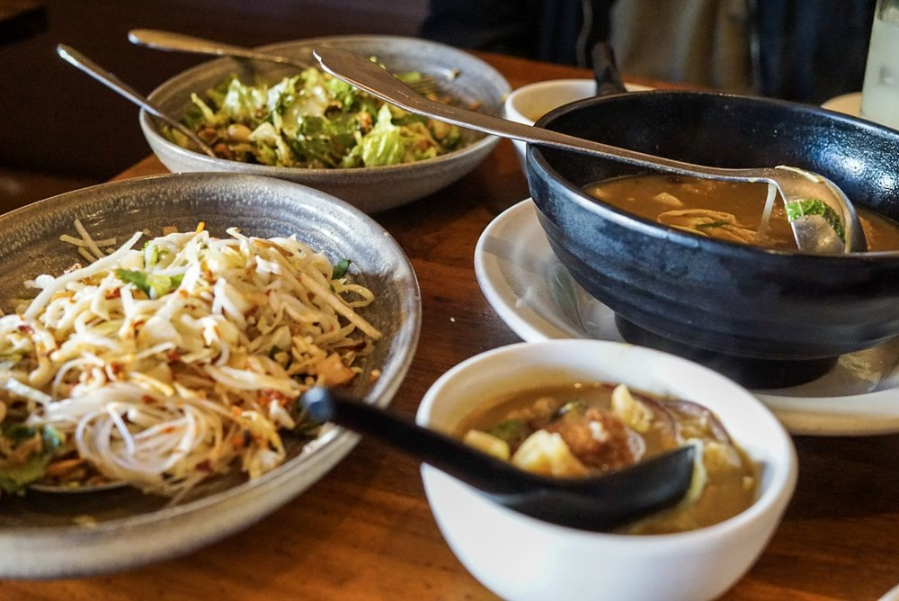 Plant-based Meal from Burma Superstar in San Francisco
