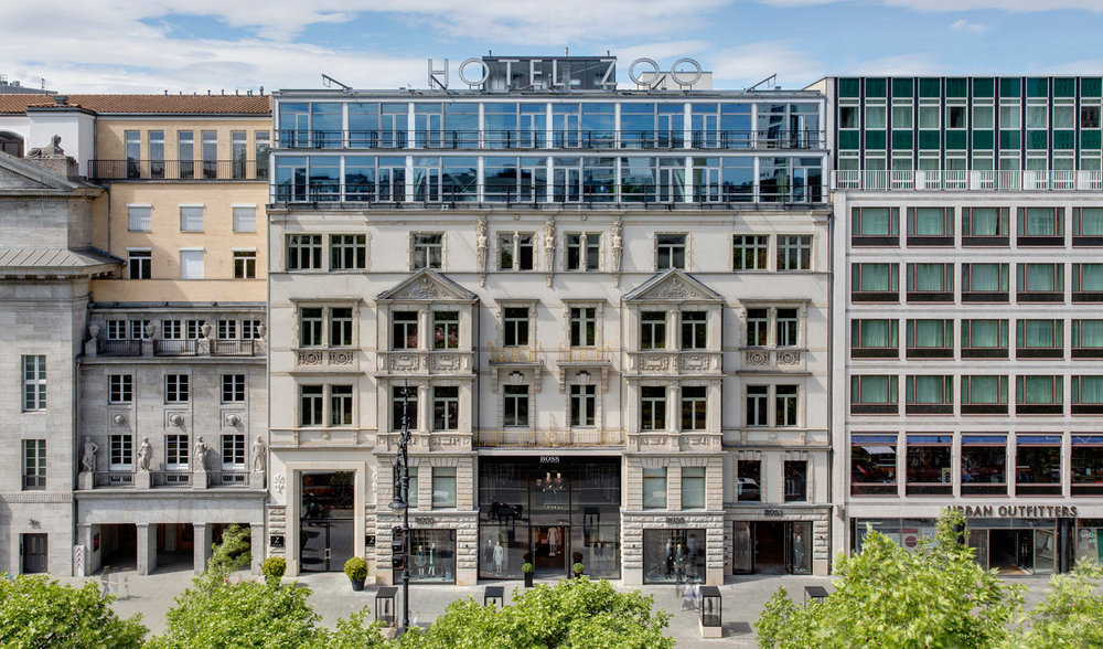 EXTERIOR ON KURFÜRSTENDAMM