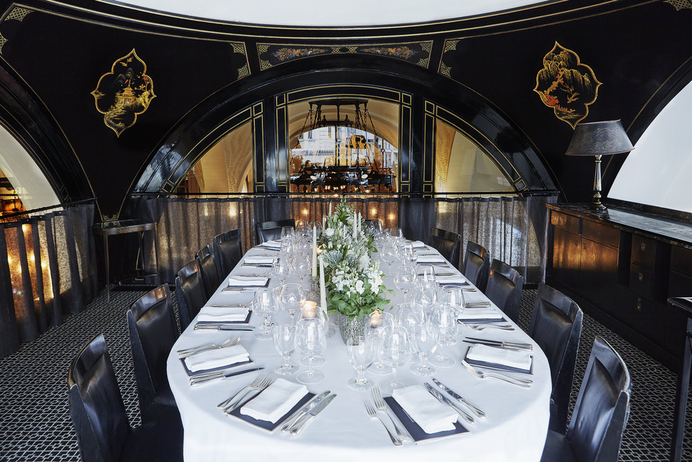 CC The Wolseley private dining room table set.jpg