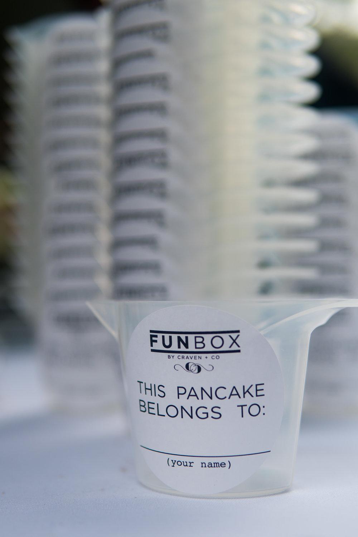 pancake bar funbox
