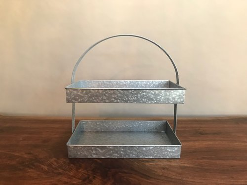 Galvanized Double Tray | Contact for pricing