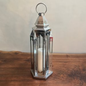 Silver Moroccan Lantern | Contact for pricing