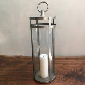 (4) Silver Cylinder Lantern | $15 each