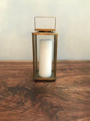 Modern Brass Lantern | $12 each