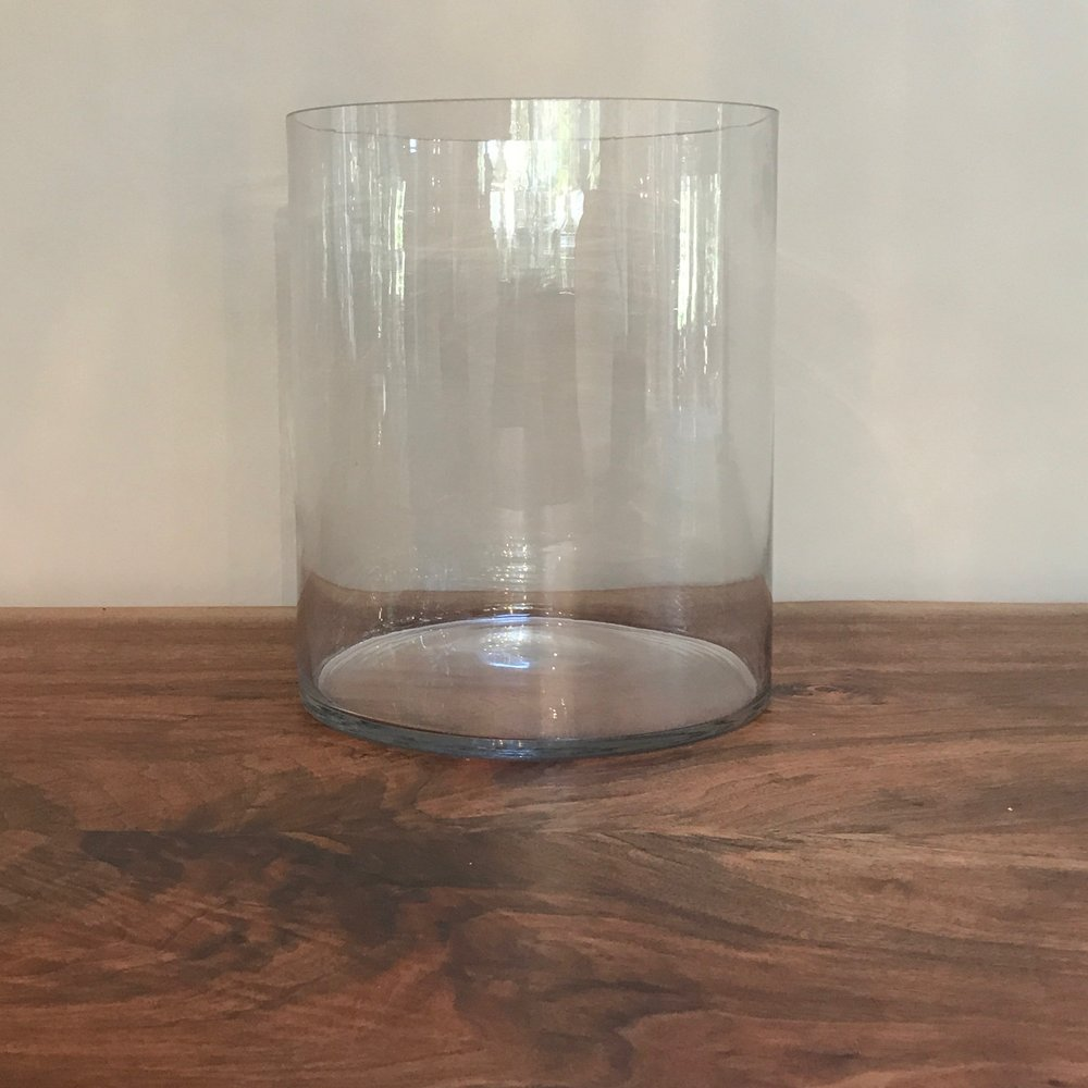 Glass Cylinder Vases | $10