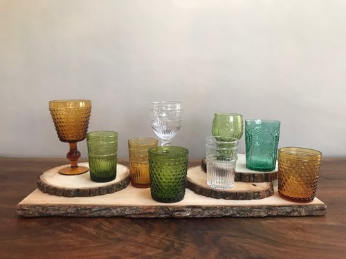 Vintage Colored Glasses | Contact for pricing