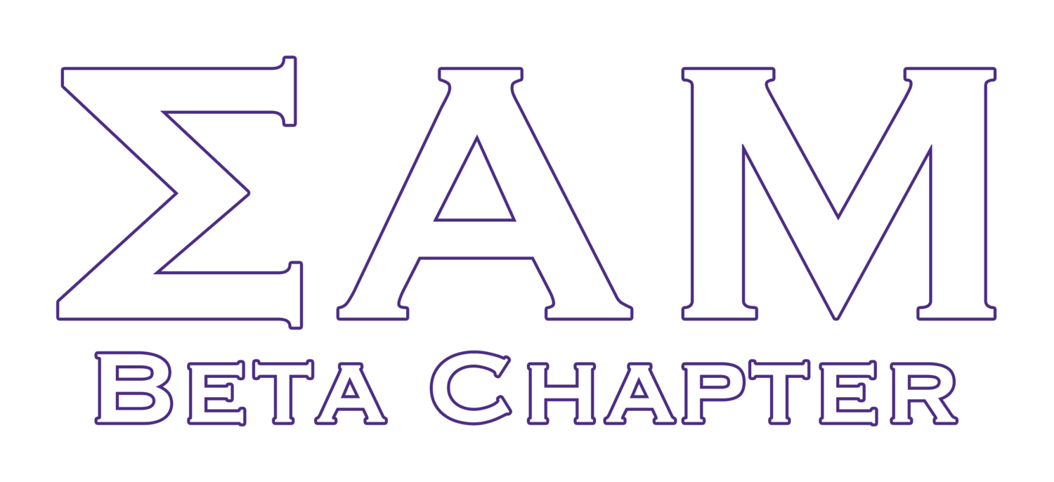 Sigma Alpha Mu  - Beta Chapter