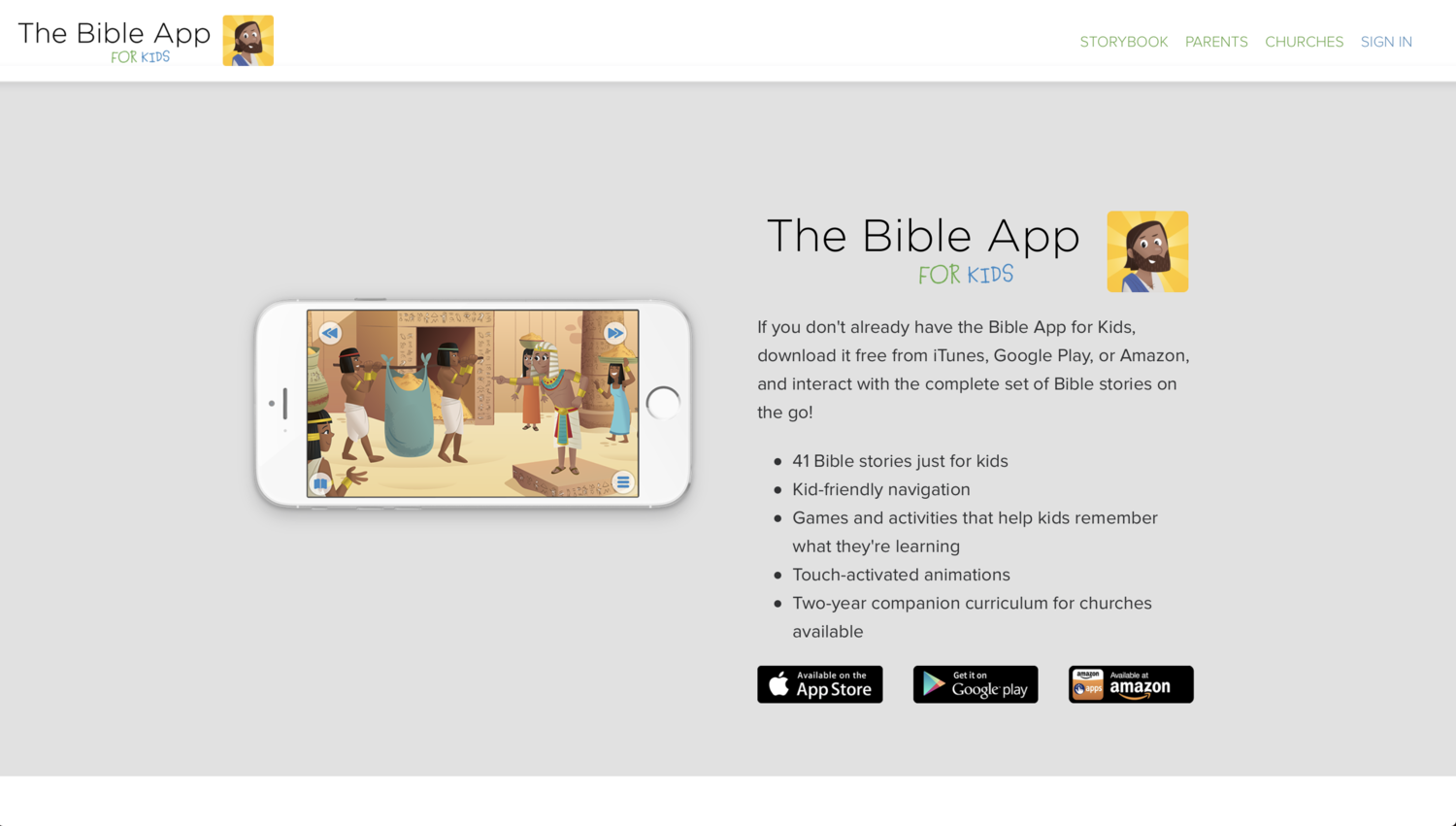 Bible App for Kids — The MidSouth District