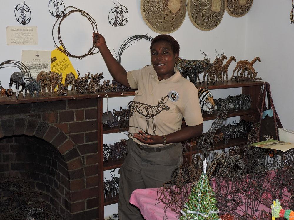 Agnes Ncube - Arts Coordinator