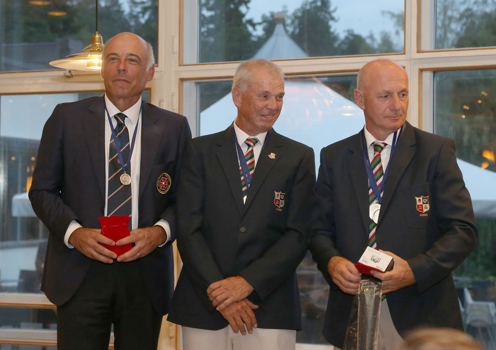 Individual prices Championship    1. Nigel EVANS, UK    2: Philip BRAMALL, UK    3. Marcello GRABAY, Italy
