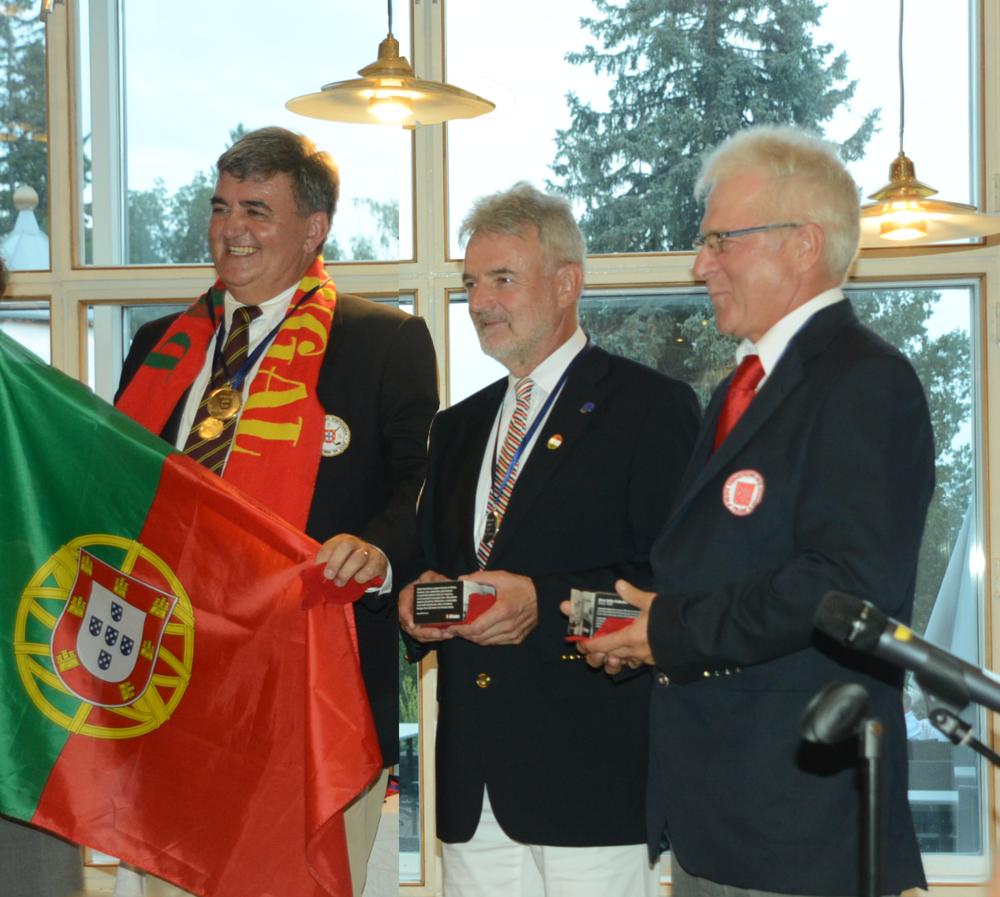 Individual cup     1st: Carlos TINOCO (Portugal),    2nd: Laszlo JAKOBI (Hungary)    3rd: Janusz KOTYNIA (Poland)