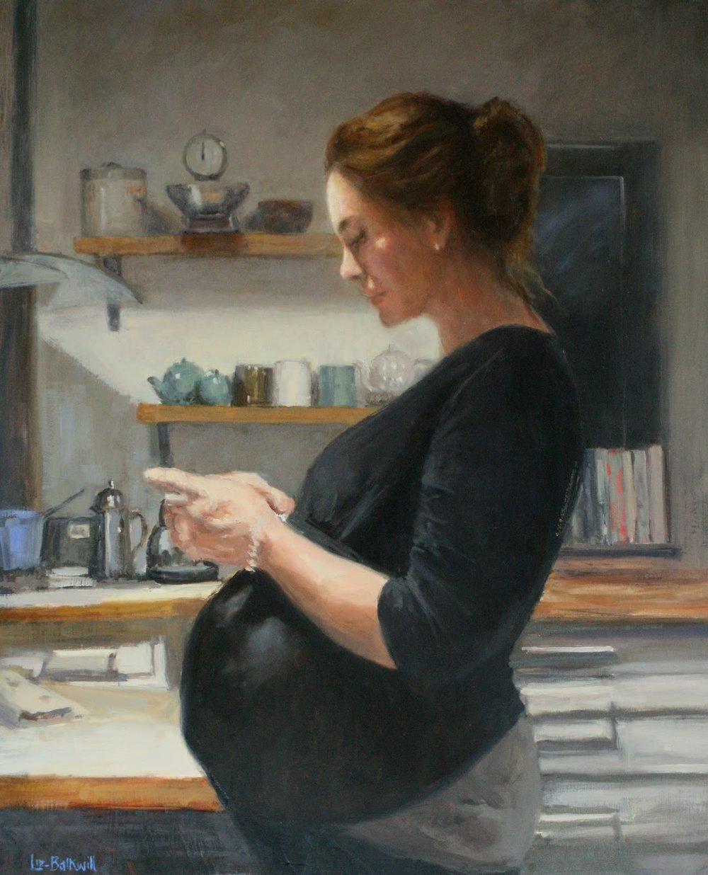 40 weeks & waiting - Oil