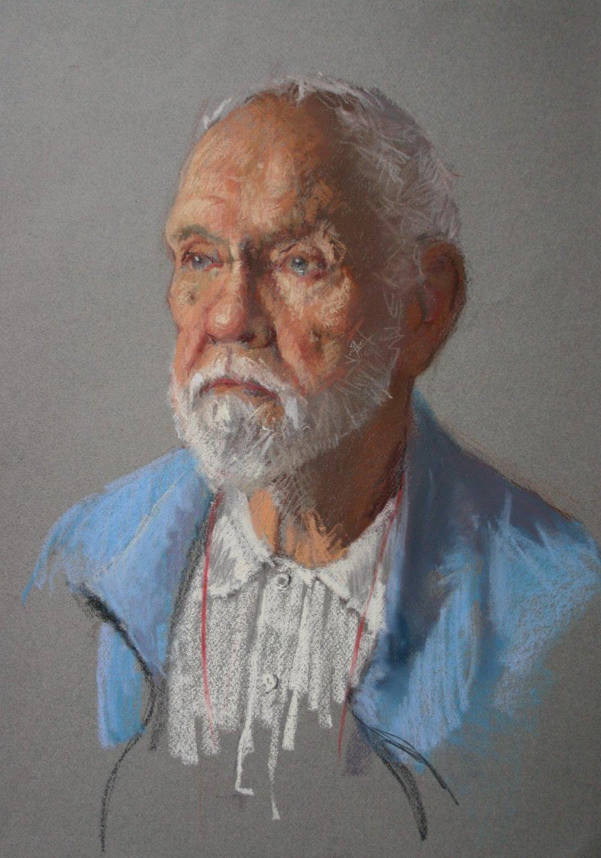 Pastel sketch of David - Pastel Sketch