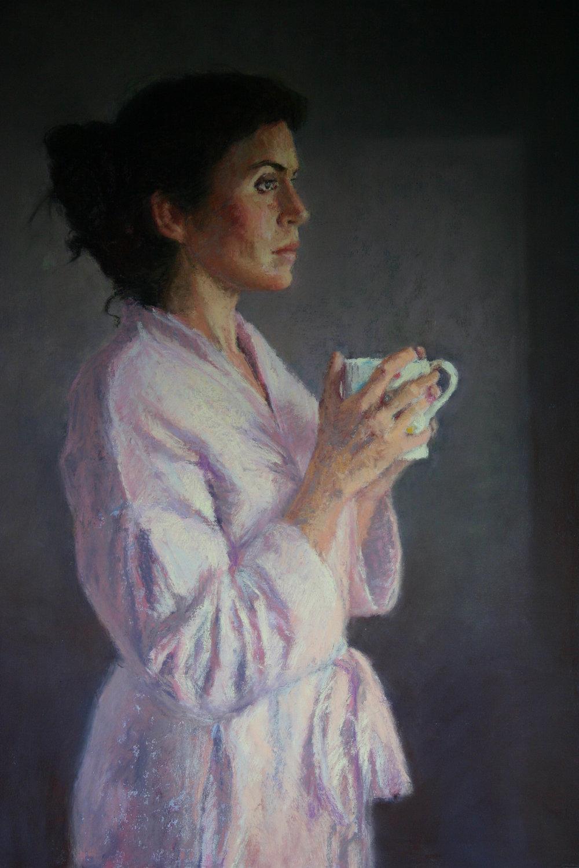 Pensive - Pastel