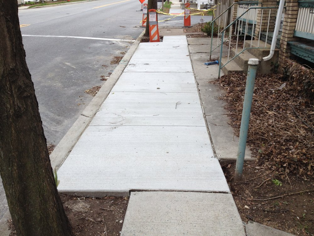 Mechanicsburg Curb and Sidewalk