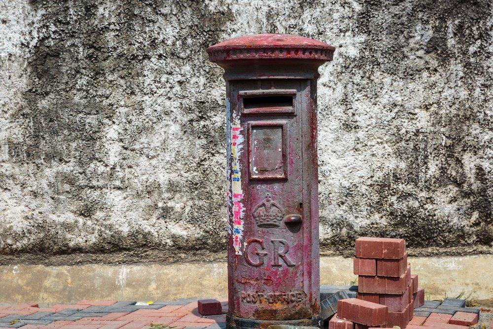 Pretty old post box