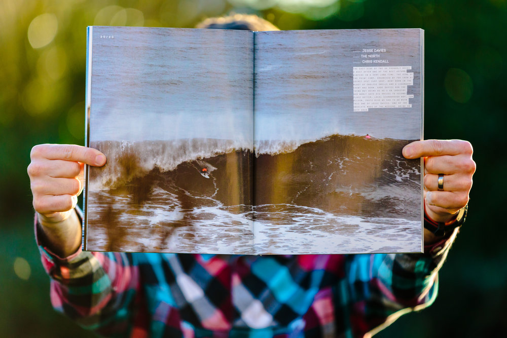 Carve Magazine: Issue 185. An image I took of Secret Spot Surf Shop's competition.