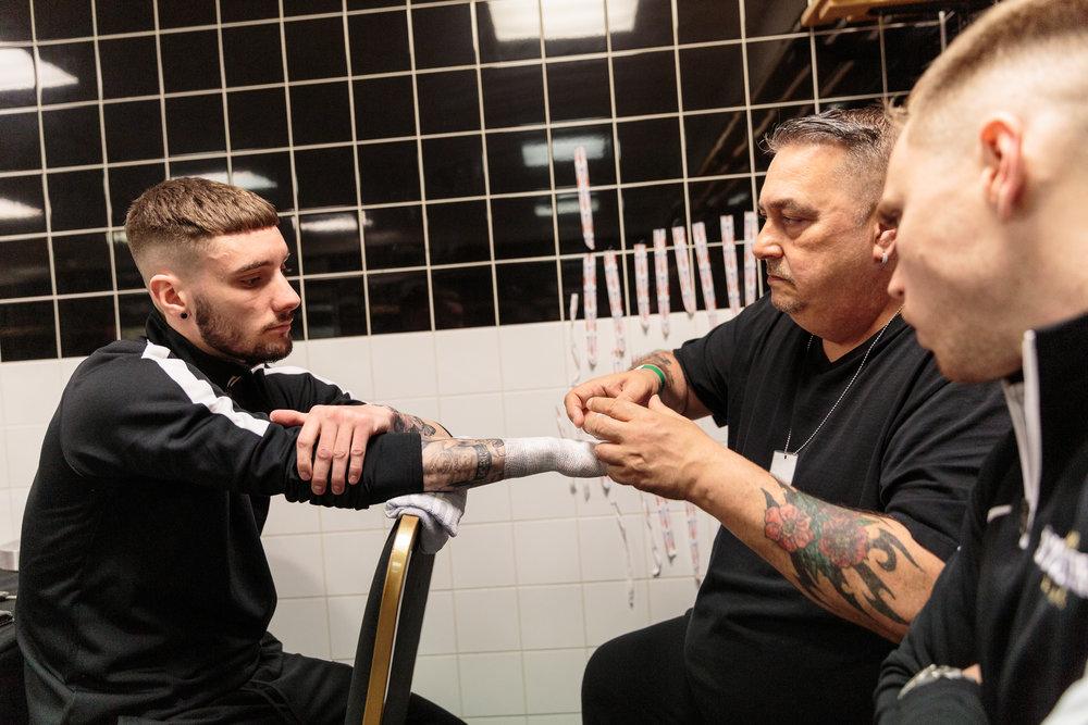 Lewis Sylvester Fight Preparation