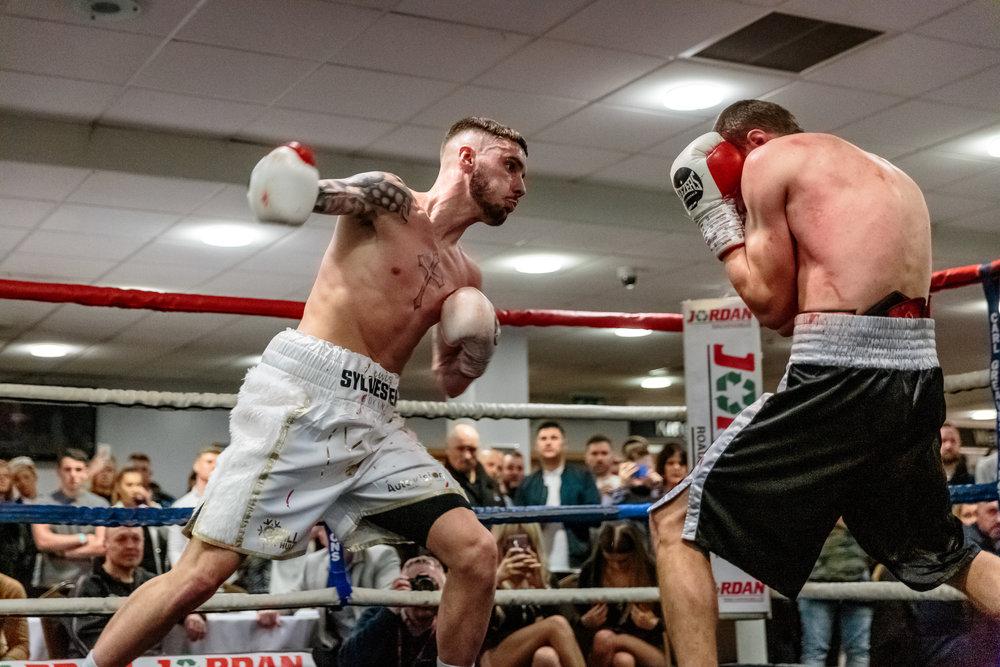 Boxing at the KCOM Stadium